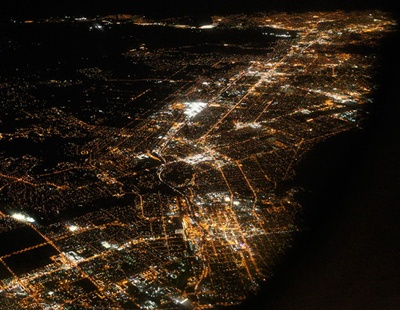 Night Sights from the air