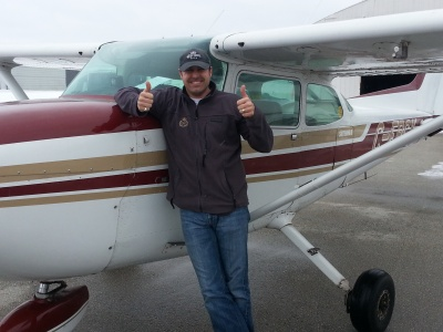 After a Discovery Flight, another happy customer
